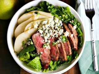 Grilled Steak Salad with French Vinaigrette