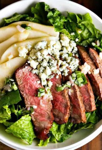 Grilled Steak Salad with French Vinaigrette | Life, Love, and Good Food