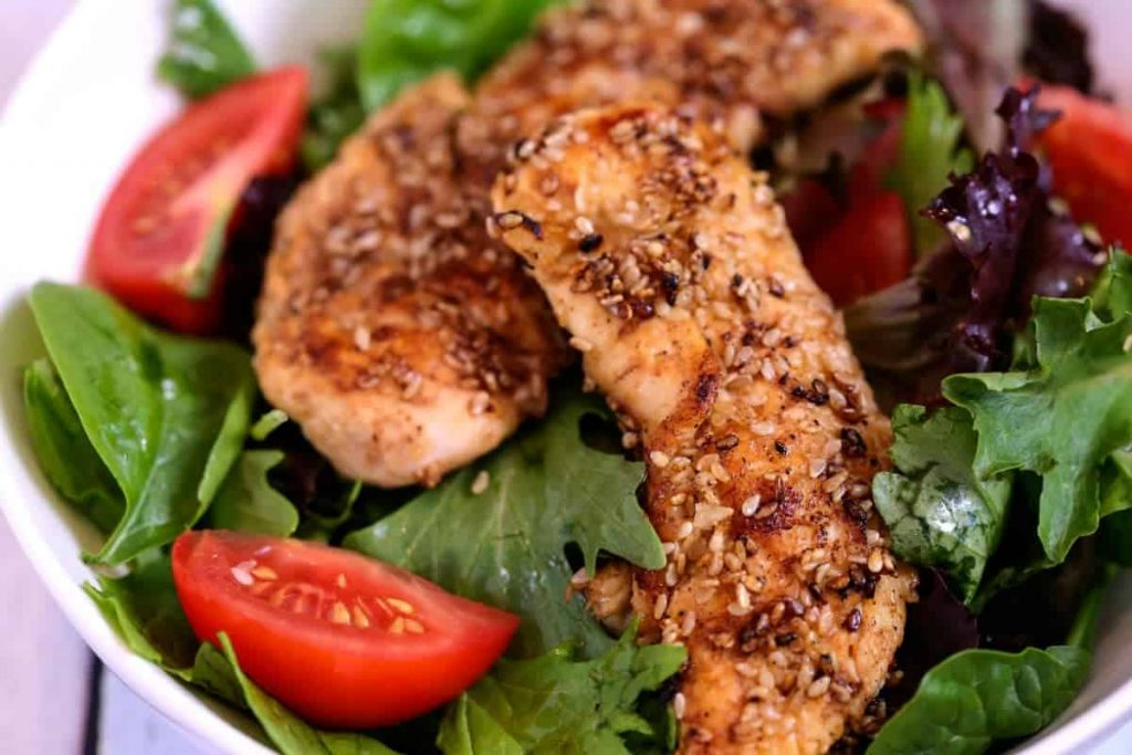 Sesame Chicken Salad | Life, Love, and Good Food