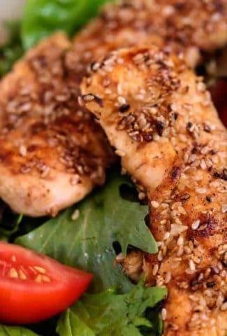 Sesame Chicken Salad | Life, Love, and Good Food
