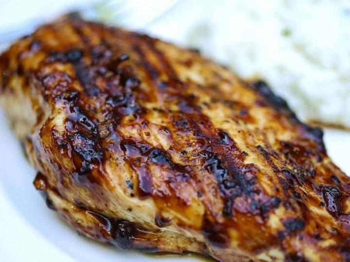 Grilled Balsamic Glazed Chicken