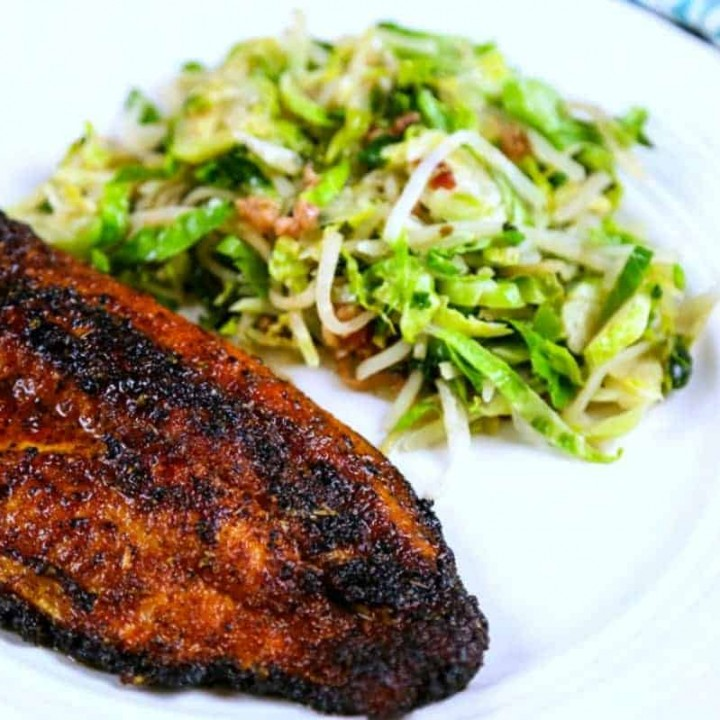 Spicy Sweet Cast Iron Catfish | Life, Love, and Good Food