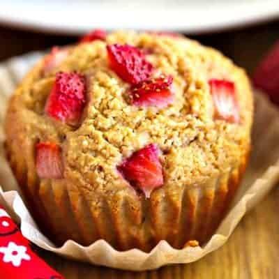 Strawberry Muffins {gluten free}