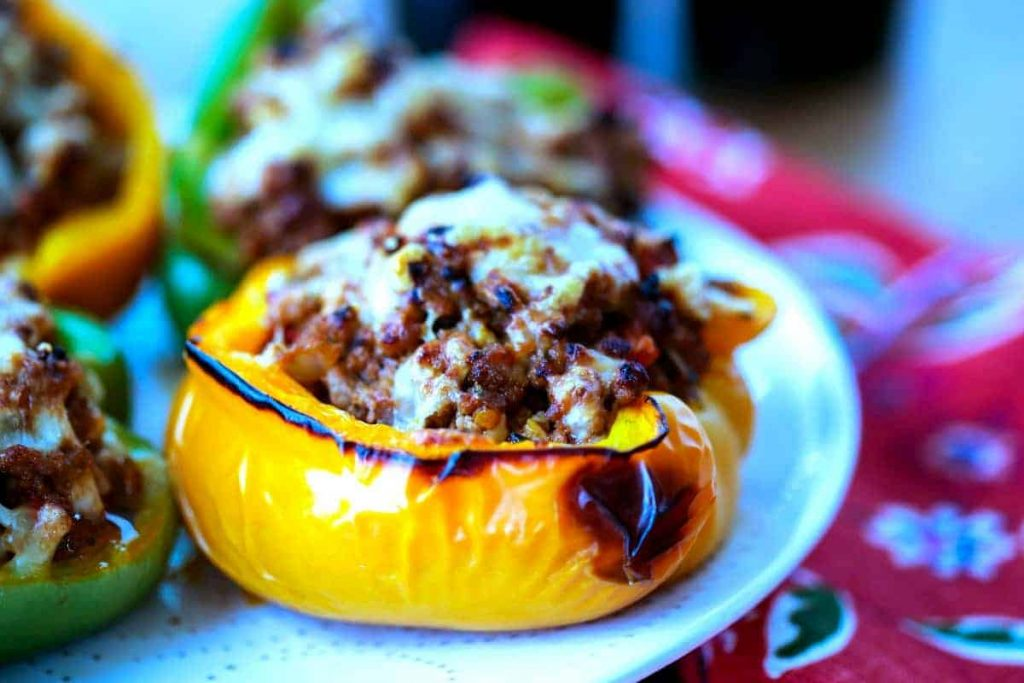 BBQ Turkey Stuffed Peppers | Life, Love, and Good Food