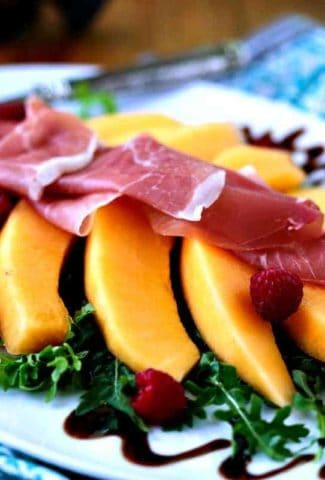 Cantaloupe Prosciutto Antipasti | Life, Love, and Good Food