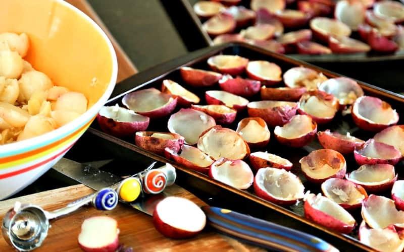 Ham and Cheese Potato Bites   Life, Love, and Good Food