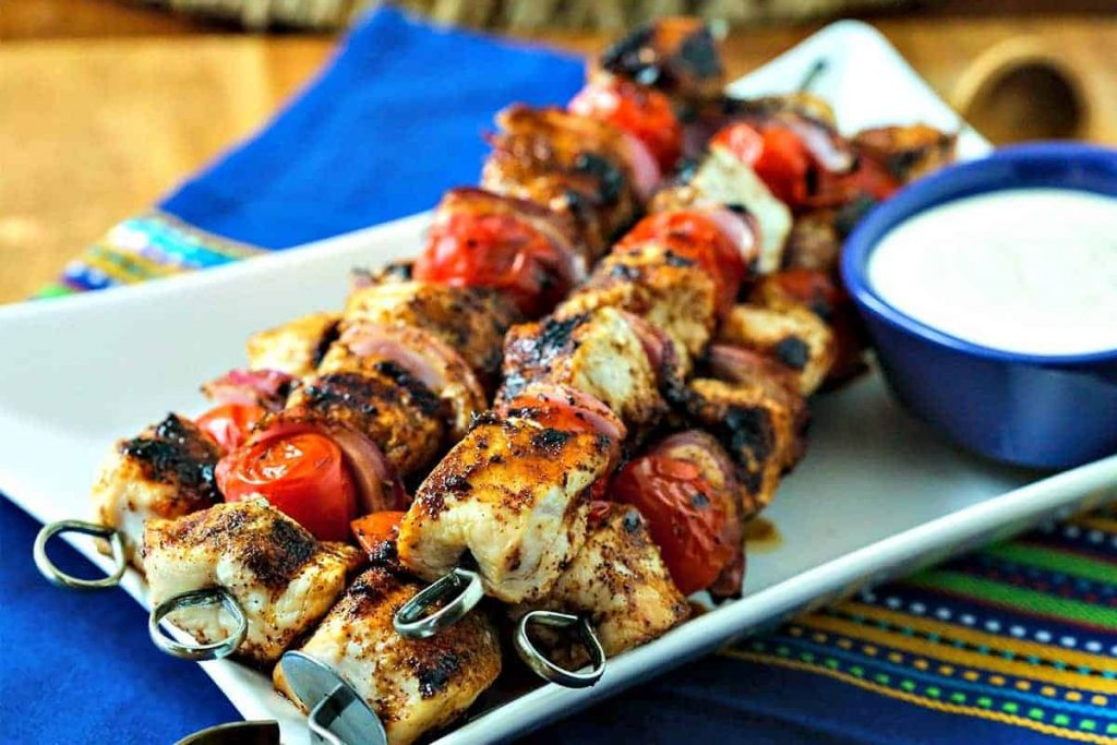Smoky Chicken Kabobs | Life, Love, and Good Food