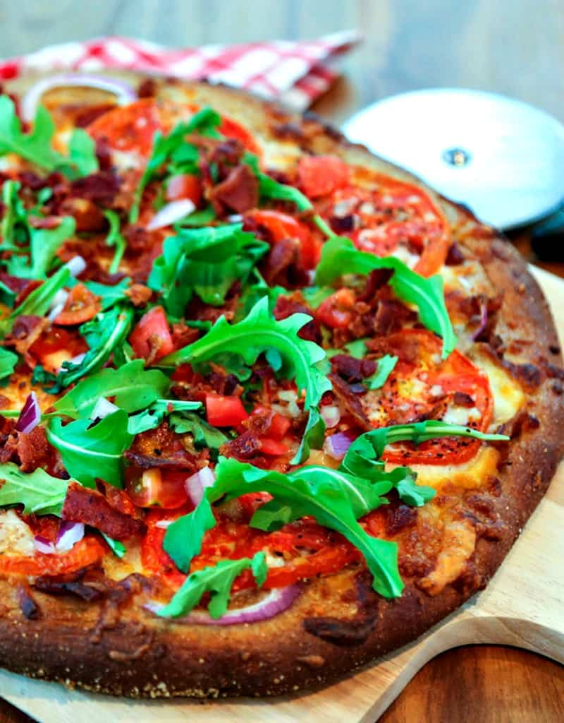 BLT Pizza | Life, Love, and Good Food