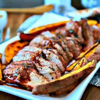 Chili-Orange Glazed Pork Tenderloin