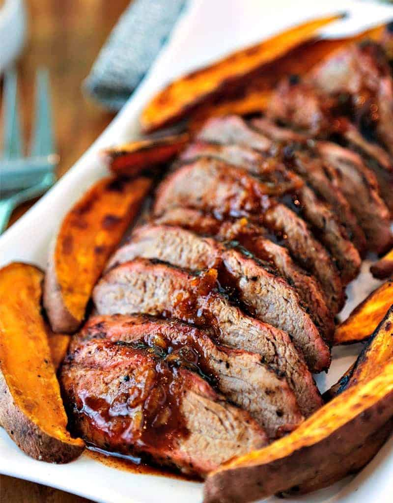Chili-Orange Glazed Pork Tenderloin | Life, Love, and Good Food