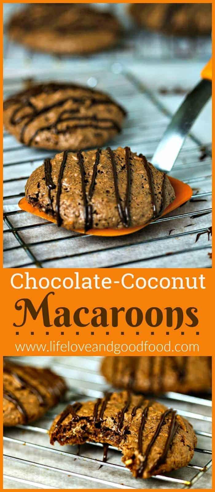 Chocolate-Coconut Macaroons   Life, Love, and Good Food