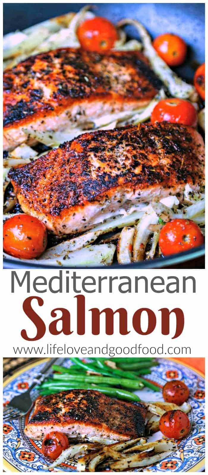 A close up of Mediterranean Salmon