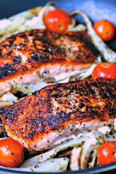 Mediterranean Salmon   Life, Love, and Good Food
