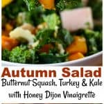 Autumn Salad with Butternut Squash, Turkey, and Kale | Life, Love, and Good Food