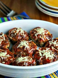 A bowl of Easy Meatloaf Muffins