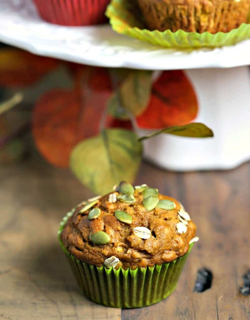 Pumpkin Oat Muffins | Life, Love, and Good Food