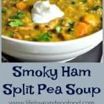 Smoky Ham Split Pea Soup   Slow Cooker Recipe   Life, Love, and Good Food