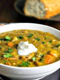 Smoky Ham Split Pea Soup | Life, Love, and Good Food