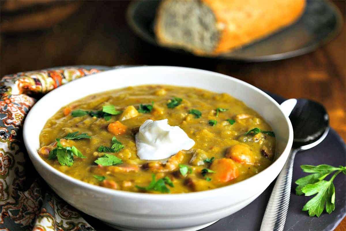 Smoky Ham Split Pea Soup   Life, Love, and Good Food