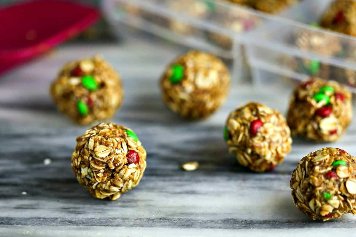 Peanut Butter Oatmeal Energy Bites | Life, Love, and Good Food