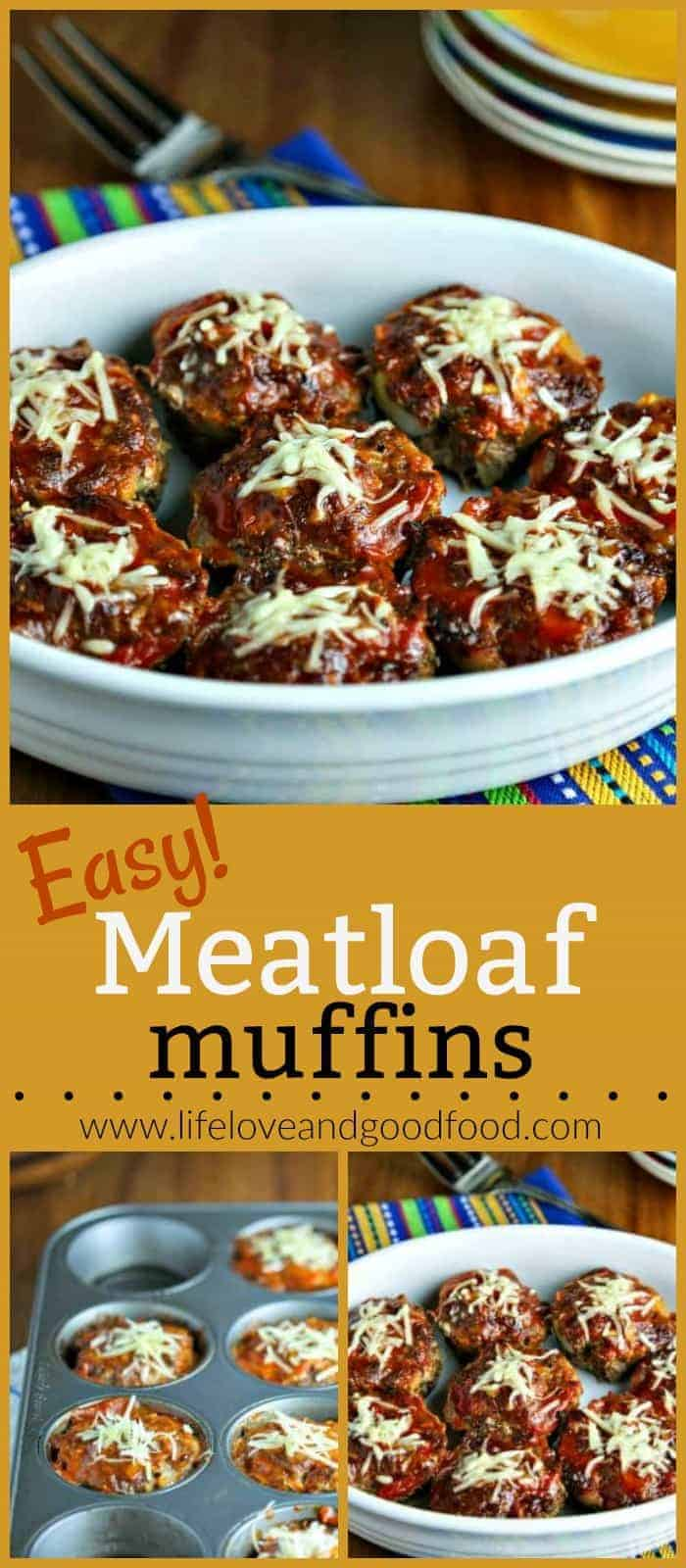 Down-home comfort food gets a healthy makeover in these lean Easy Meatloaf Muffins AND they can be prepared and on your table in less than an hour!