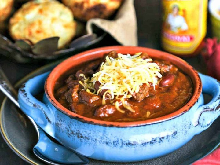 Slow-Cooker Tex-Mex Chili
