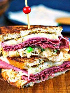 Super Reuben Sandwich