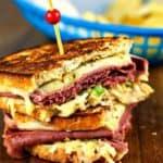 Super Coleslaw Reuben Sandwiches