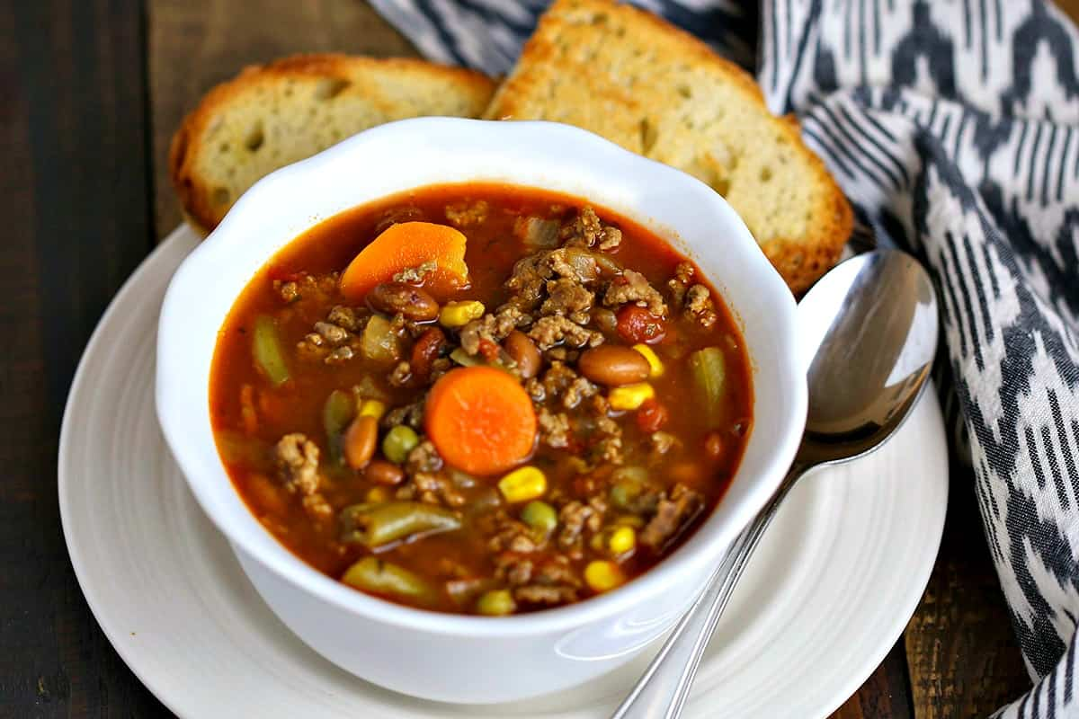 Beefy Vegetable Soup | Life, Love, and Good Food