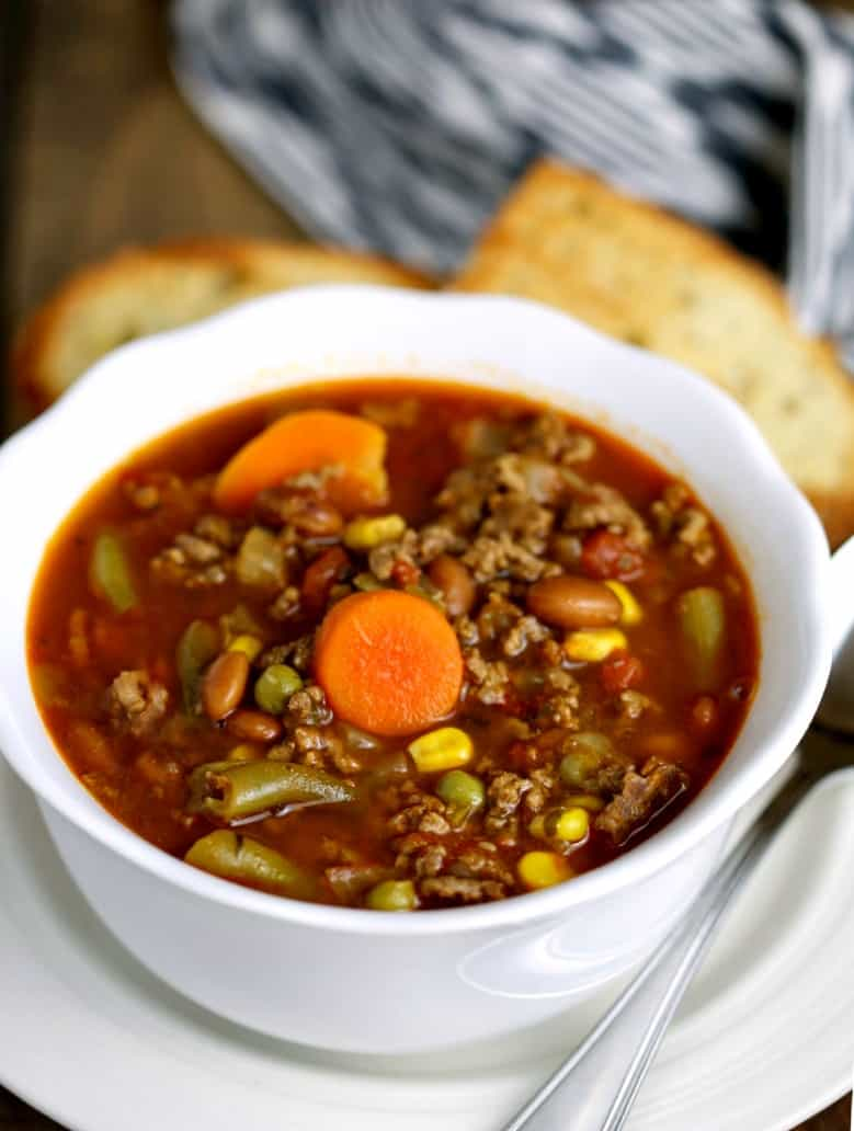 Beefy Vegetable Soup   Life, Love, and Good Food
