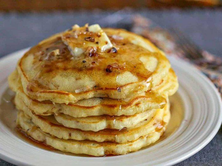 Coconut Pecan Pancakes