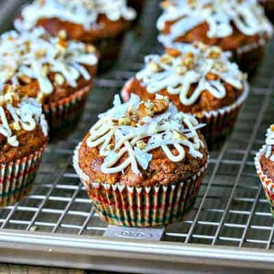 Carrot Coconut Muffins