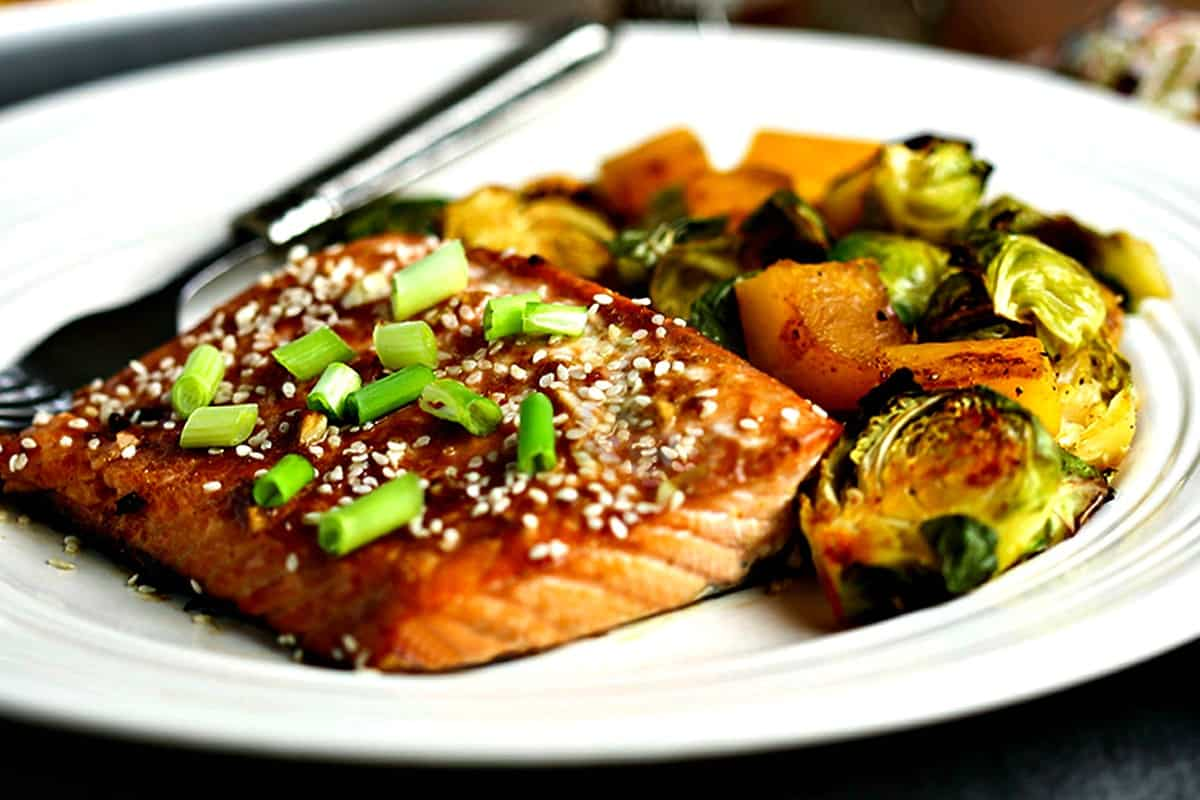 Honey Soy Salmon Sheet Pan Dinner | Life, Love, and Good Food