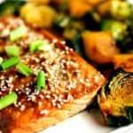 Honey Soy Salmon Sheet Pan Dinner | Life, Love, and Good Food