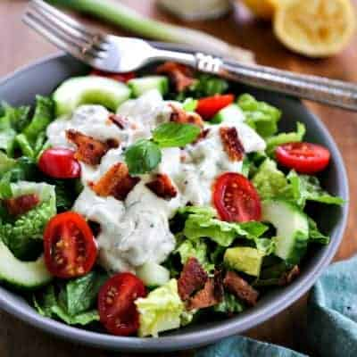 Basil Buttermilk Dressing