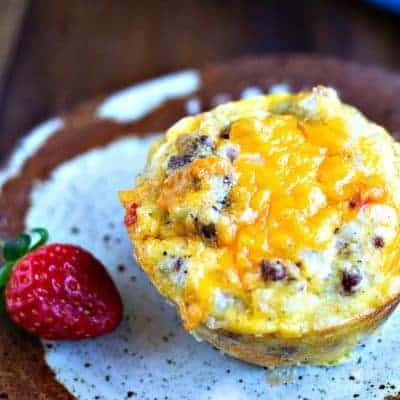 Make Ahead Gluten-Free Sausage Egg Muffins