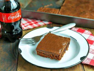 Classic Coca-Cola Chocolate Cake
