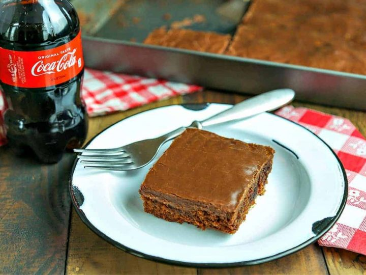 Classic Coca-Cola Chocolate Cake | Life, Love, and Good Food