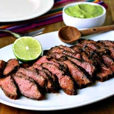 Easy Grilled Steak Fajitas for Two