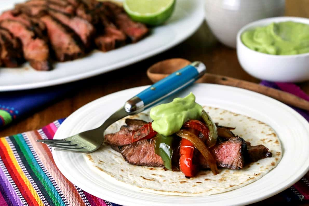 Easy Grilled Steak Fajitas for Two | Life, Love, and Good Food