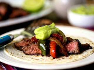 Easy Grilled Steak Fajitas
