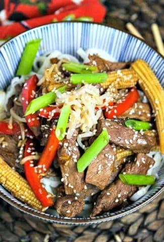 Korean Beef Stir Fry   Life, Love, and Good Food