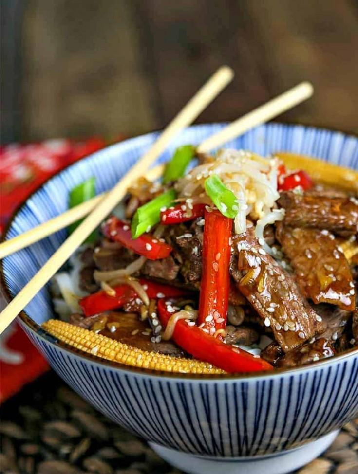 Easy Korean Beef Stir Fry Life Love And Good Food