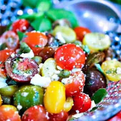 Greek Heirloom Tomato Salad