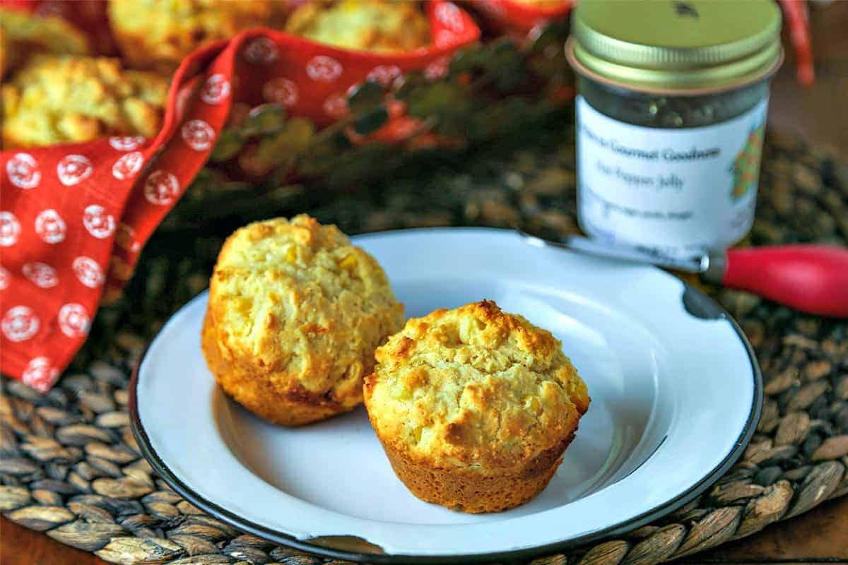 Jalapeño Jam Corn Muffins | Life, Love, and Good Food