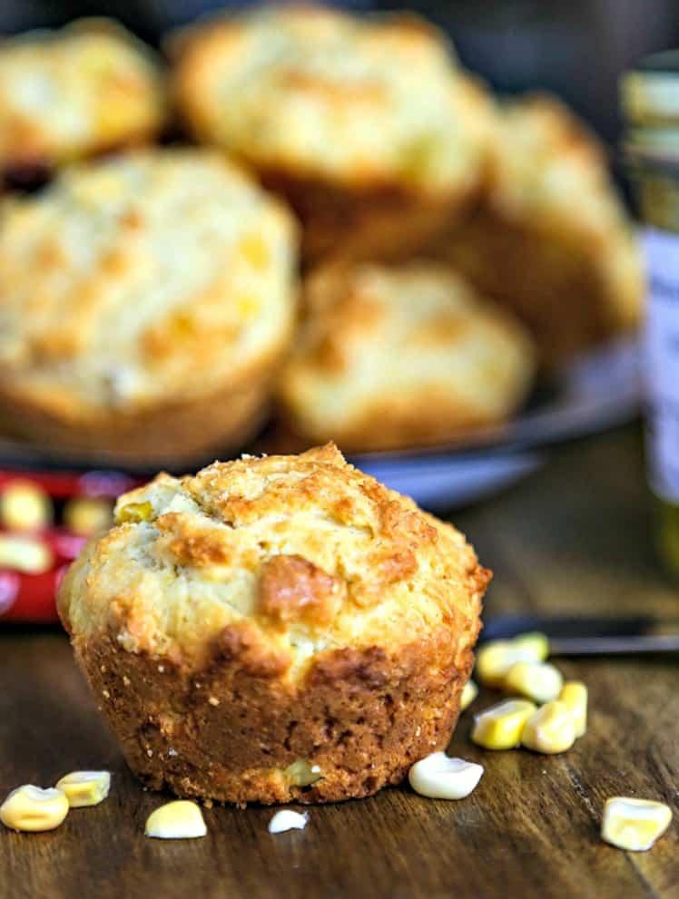 Jalapeño Jam Corn Muffins   Life, Love, and Good Food