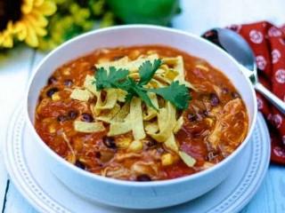 Easy-Cheesy Chicken Enchilada Soup
