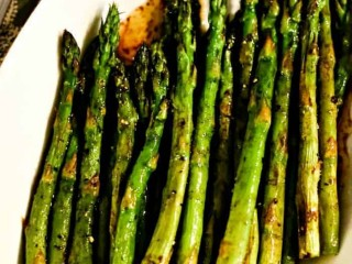Browned Butter Roasted Asparagus