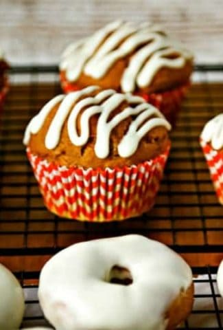 Pumpkin Spice Muffins and Donuts