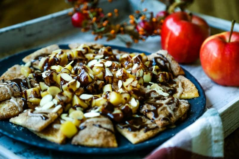 Chocolate Apple Pie Nachos | Life, Love, and Good Food